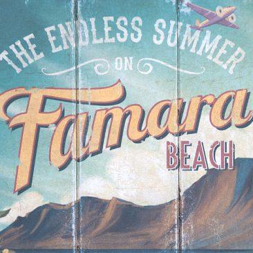 Lanzarote vintage signs