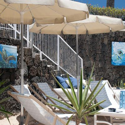 Paintings for decoration the Beach bar in Costa Teguise - Lanzarote - Jardin del Mar