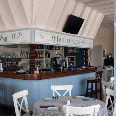Decorations for Shutters, coastal beach Restaurant in Costa Teguise, Lanzarote - Jardin del Mar
